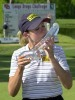 Cristie Kerr... kissing it